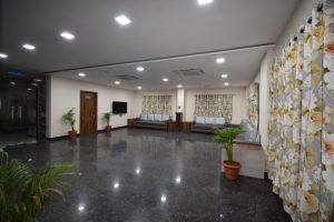 Hostel lobby Interior design
