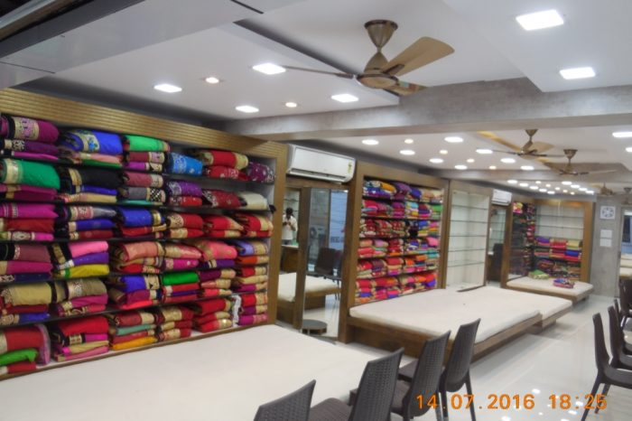 Saree shop Interior Design