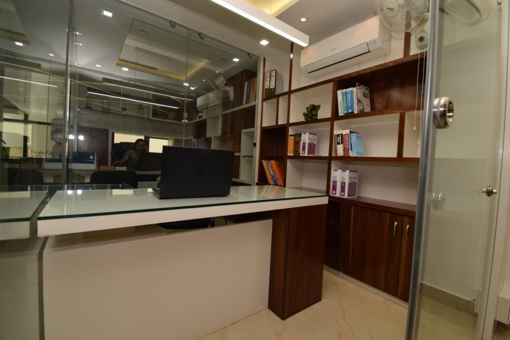 ca office interior design in india